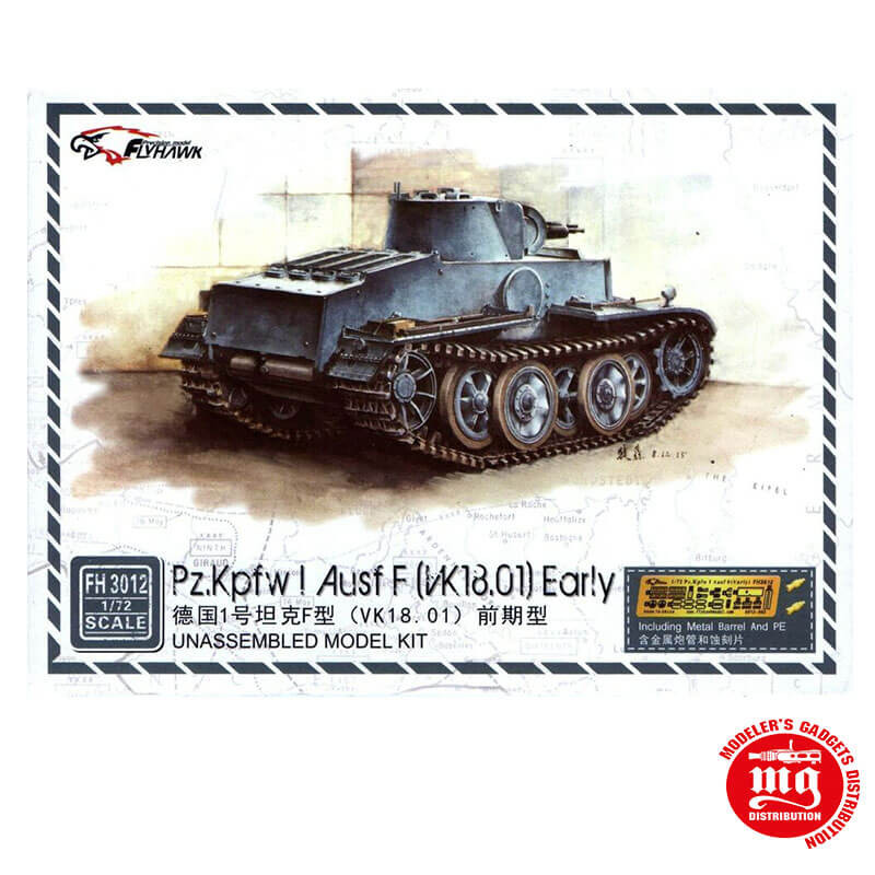 Pz.Kpfw I Ausf F EARLY FLYHAWK 3012