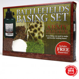 BATTLEFIELDS BASING SET THE ARMY PAINTER ST5114