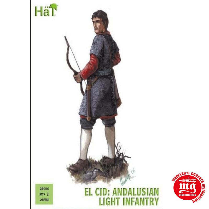 INFANTERIA LIGERA ANDALUZA DEL CID CAMPEADOR RODRIGO DIAZ DE VIVAR HAT 28006