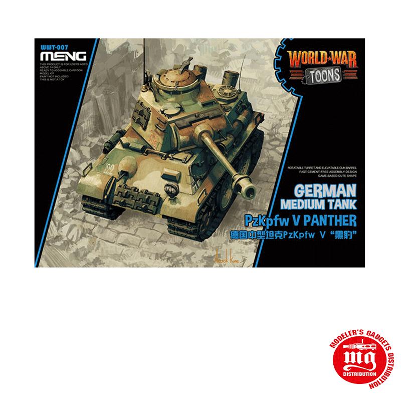 GERMAN MEDIUM TANK PzKpfw V PANTHER MENG WWT-007