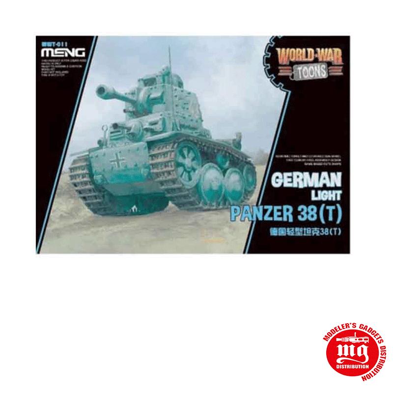 GERMAN LIGHT PANZER 38 T MENG WWT-011