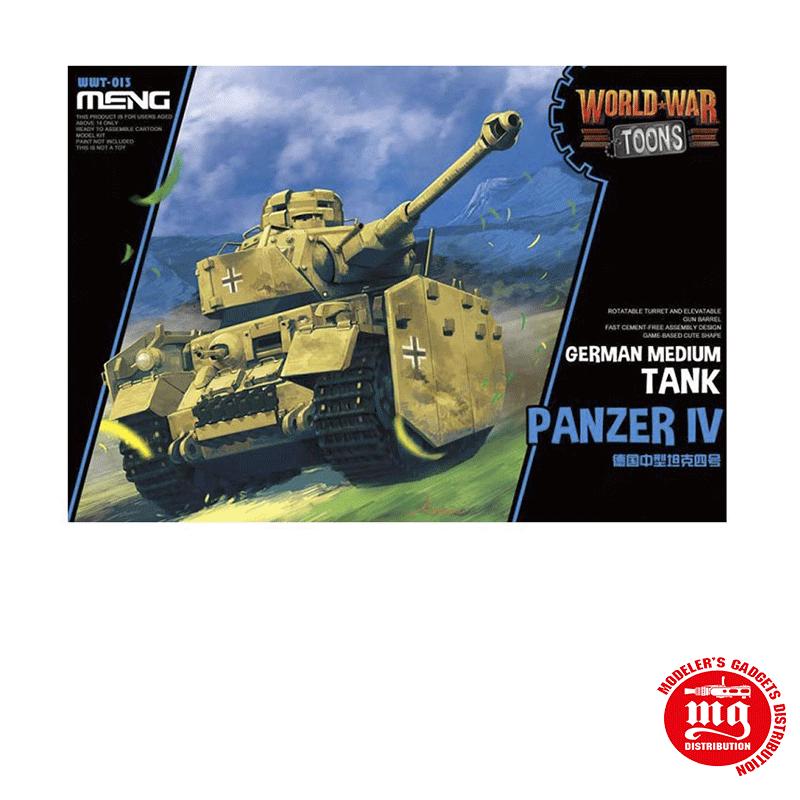 GERMAN MEDIUM TANK PANZER IV MENG WWT-013