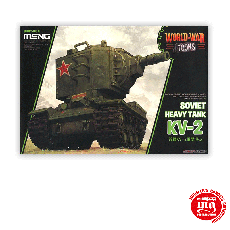 SOVIET HEAVY TANK KV-2 MENG WWT-004