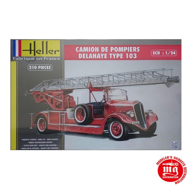 CAMION DE POMPIERS DELAHAYE TYPE 103 HELLER 80780