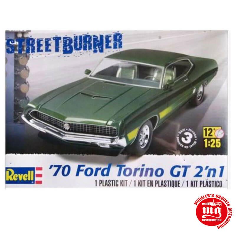 70 FORD TORINO GT 2 EN 1 REVELL 85-4099