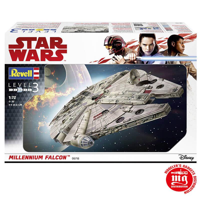 MILLENNIUM FALCON STAR WARS REVELL 06718