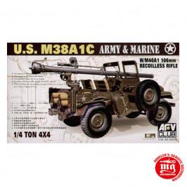 US M38A1C AFV CLUB AF35S19
