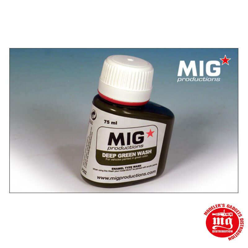 DEEP GREEN WASH MIG PRODUCTIONS P302