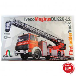 IVECO MAGIRUS DLK26-12 FIRE LADDER TRUCK ITALERI 3784