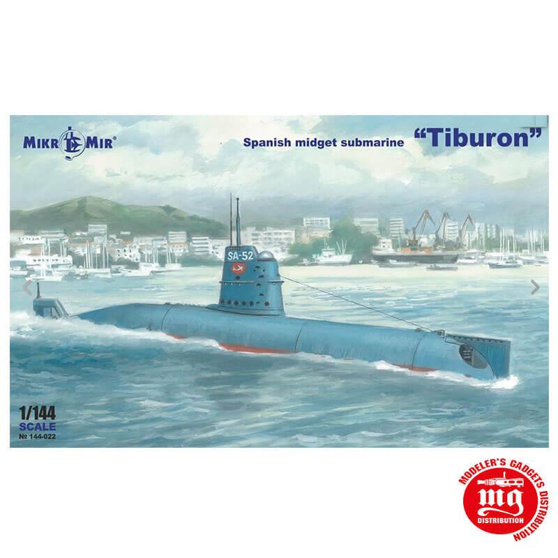 SPANISH MIDGET SUBMARINE TIBURON MIKRO MIR 144-022