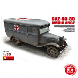 GAZ 03 30 AMBULANCE MINIART 35160