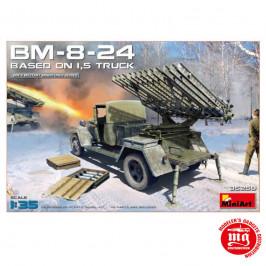 BM 8 24 BASED ON 1.5T TRUCK MINIART 35259