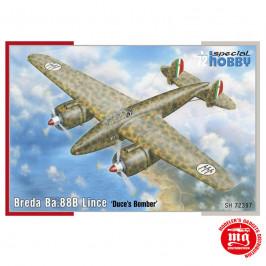 BREDA Ba.88B LINCE DUCE´S BOMBER SPECIAL HOBBY SH72397