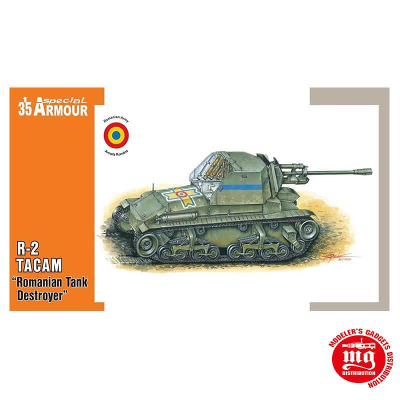 R-2 TACAM ROMANIAN TANK DESTROYER SPECIAL HOBBY SA35003