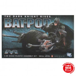 BAT POD THE DARK KNIGHT RISES MOEBIUS MODELS 920