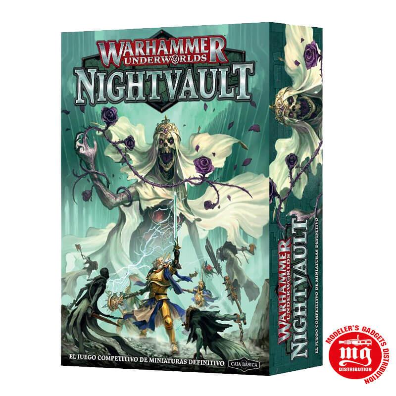 WARHAMMER UNDERWORLDS NIGHTVAULT EN CASTELLANO