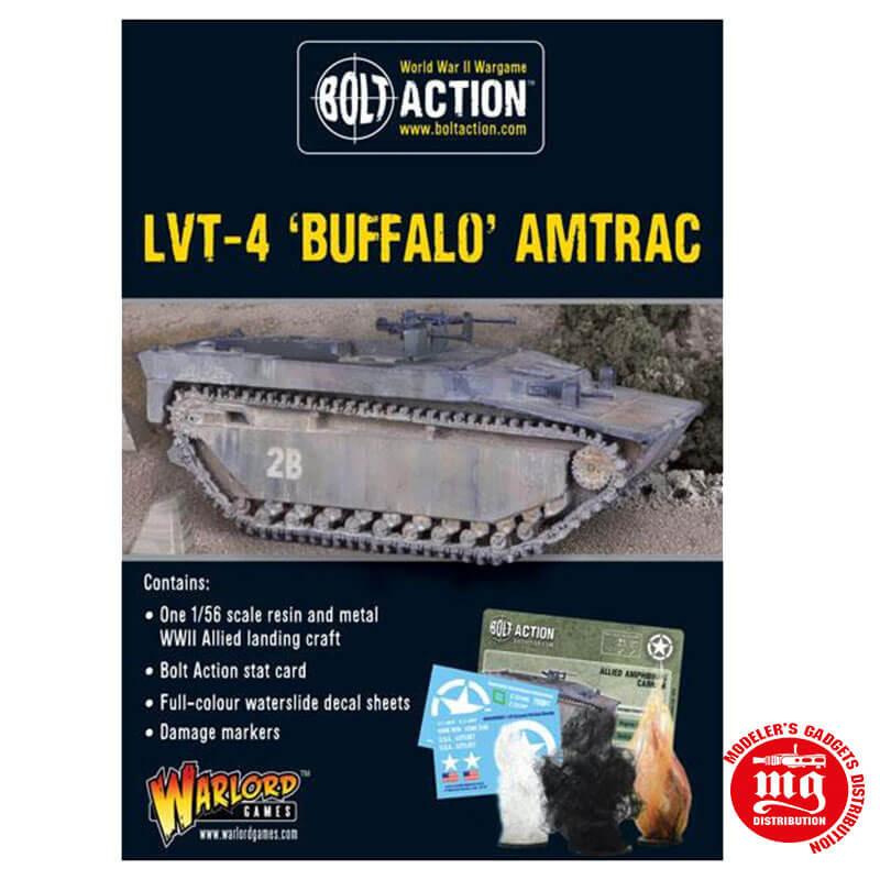LVT-4 BUFFALO AMTRAC BOLT ACTION WARLORD 402413005