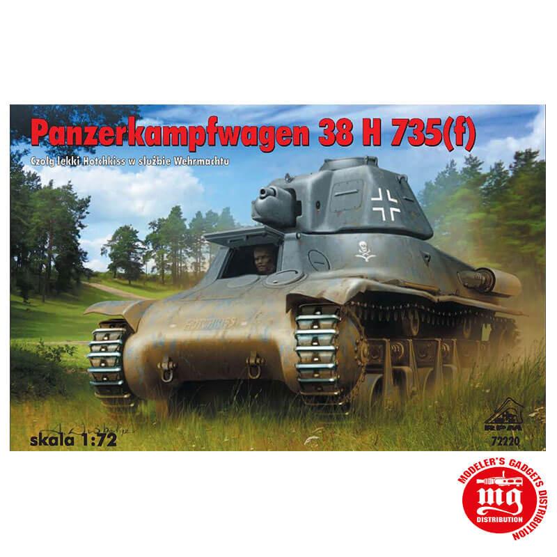 PANZERKAMPFWAGEN 38 H 735 f RPM 72220