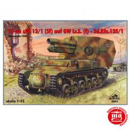 15 cm sFH 13/1 Sf AUF GW Lr.s. f Sd.Kfz.135/1 RPM 35053
