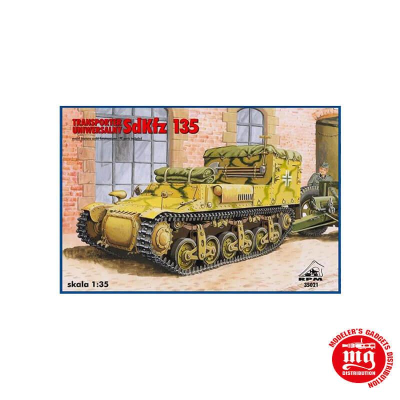UNIVERSAL TRANSPORTER SdKfz 135 RPM 35021