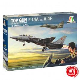 TOP GUN F-14A VS. A-4F ITALERI 1422