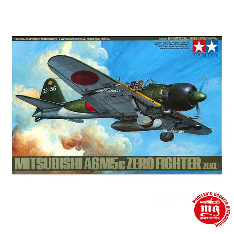 MITSUBISHI A6M5c ZERO FIGHTER ZEKE TAMIYA 61027