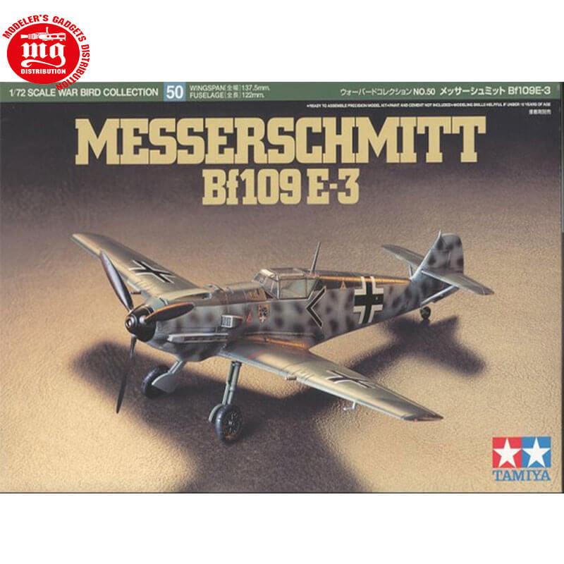 MESSERSCHMITT Bf109 E3 TAMIYA 61050