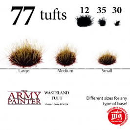 WASTELAND TUFT BATTLEFIELDS THE ARMY PAINTER BF 4226