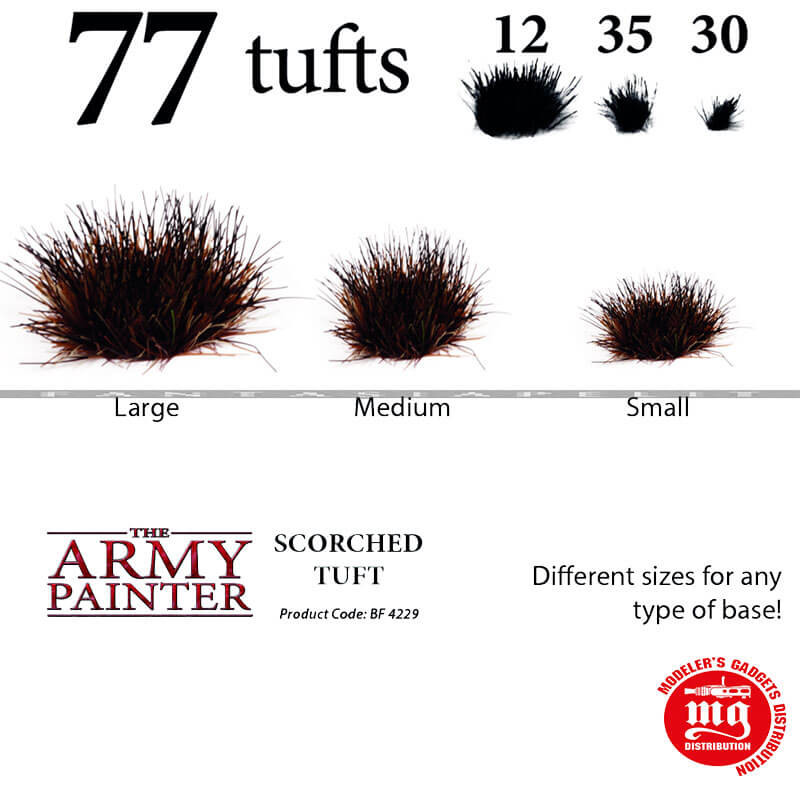 BATTLEFIELDS SCORCHED TUFT THE ARMY PAINTER BF 4229
