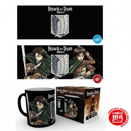 TAZA TERMICA ATTACK ON TITAN