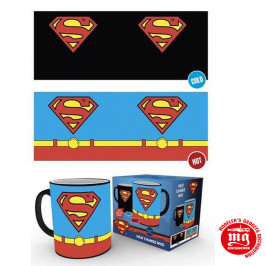 TAZA TERMICA SUPERMAN DC COMICS