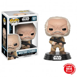FUNKO POP WEETEEF CYUBEE STAR WARS
