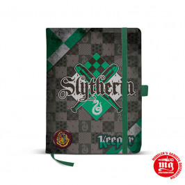 LIBRETA HARRY POTTER SLYTHERIN