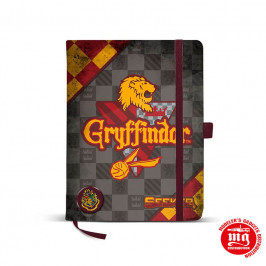 LIBRETA HARRY POTTER GRYFFINDOR