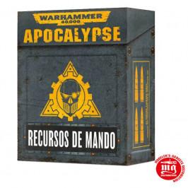 APOCALYPSE RECURSOS DE MANDO EN ESPAÑOL WARHAMMER 40000