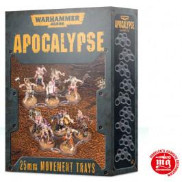 APOCALYPSE MOVEMENT TRAYS 25 MM WARHAMMER 40000