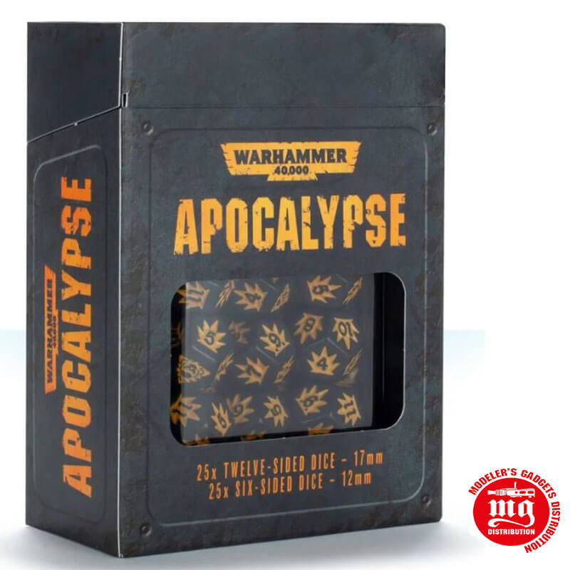 APOCALYPSE DICE WARHAMMER 40000