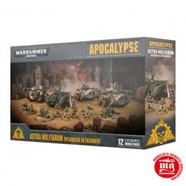 APOCALYPSE ASTRA MILITARUM SPEARHEAD DETACHMENT warhammer 40000