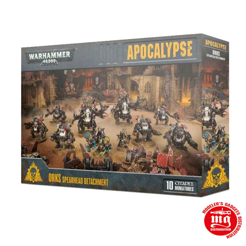 APOCALYPSE ORKS SPEARHEAD DETACHMENT WARHAMMER 40000