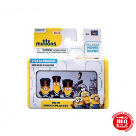SET MINIONS GUARDIA REAL BRITANICA