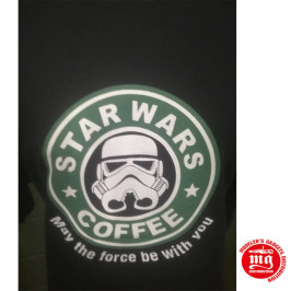CAMISETA STAR WARS COFFEE