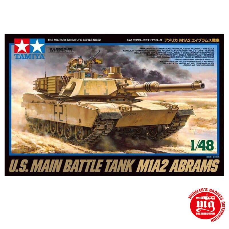 M1A2 ABRAMS TAMIYA 32592