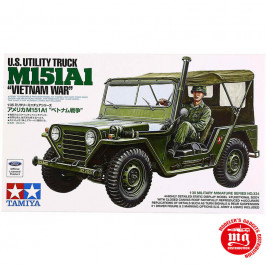 M151A1 UTILITY TRUCK VIETNAM WAR TAMIYA 35334