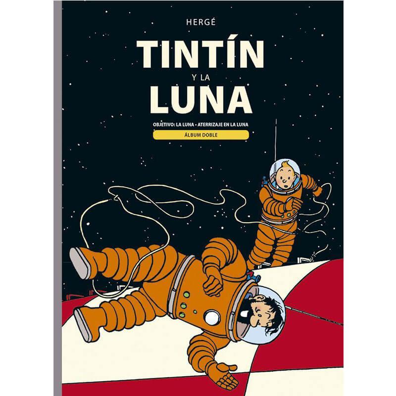 TINTIN Y LA LUNA ALBUM DOBLE HERGÉ