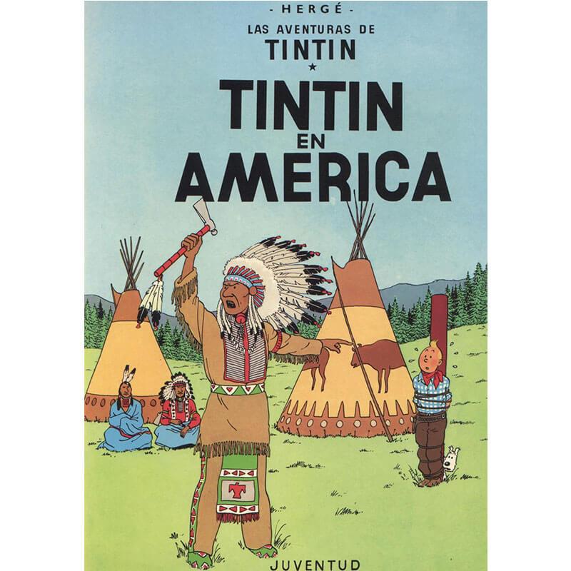 TINTIN EN AMERICA LAS AVENTURAS DE TINTIN