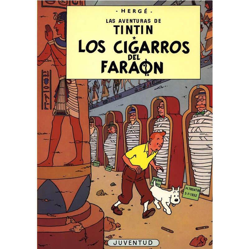 LOS CIGARROS DEL FARAON LAS AVENTURAS DE TINTIN