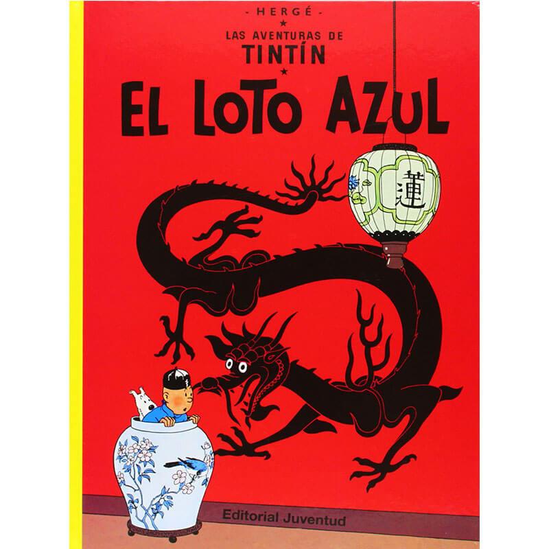 EL LOTO AZUL LAS AVENTURAS DE TINTIN