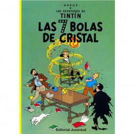 LAS SIETE BOLAS DE CRISTAL LAS AVENTURAS DE TINTIN