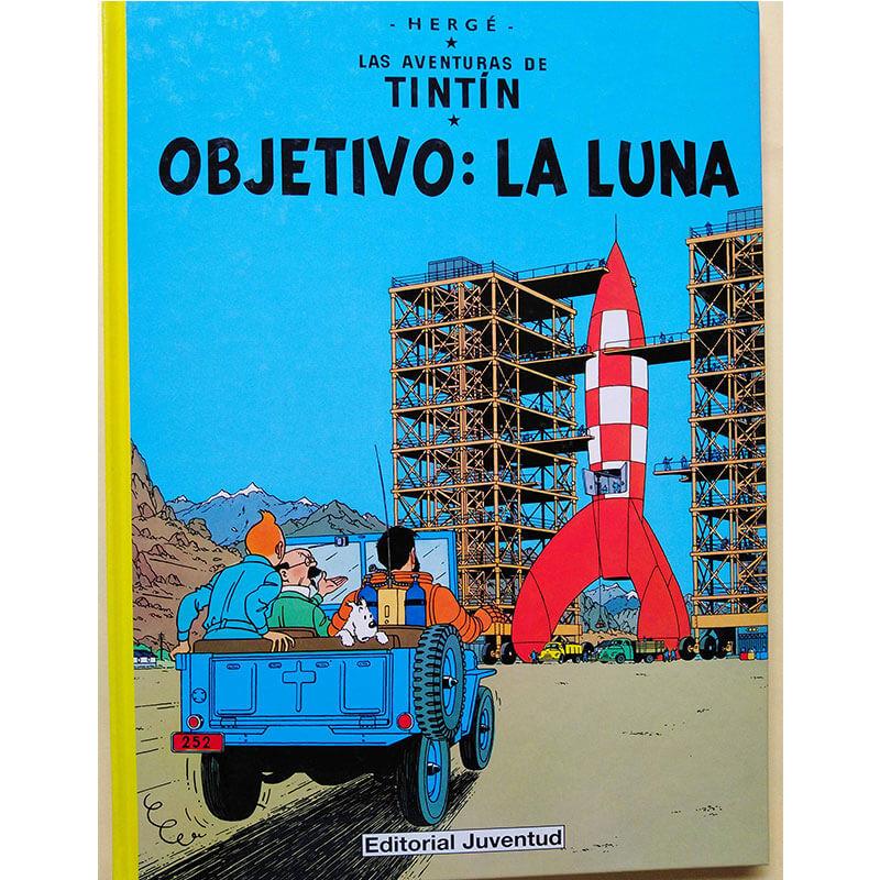 OBJETIVO LA LUNA LAS AVENTURAS DE TINTIN