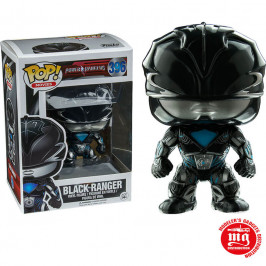 FUNKO POP POWER RANGERS BLACK RANGER